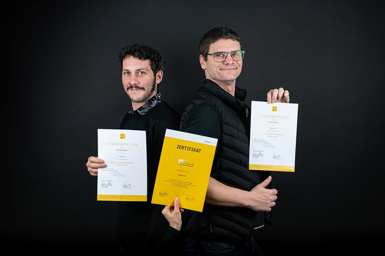 """Wir sind zertifizierter """"Selling Partner"""" von REINER SCT"""