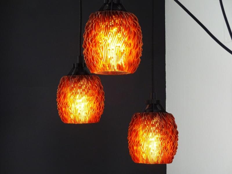 Seaglass-Lampenschirm-Iamprinted