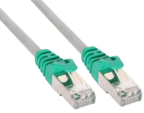 5m X-Over Patchkabel, S-FTP, Cat.5e, grau | Netzwerkkabel | Kabel ...