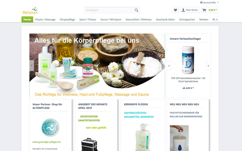 Bellasan-Onlineshop