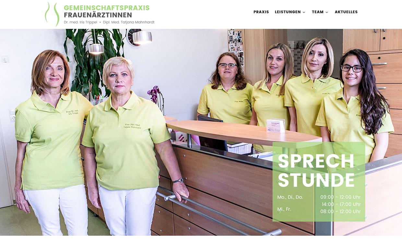 Gemeinschaftspraxis-Frauenaerztinnen-Website