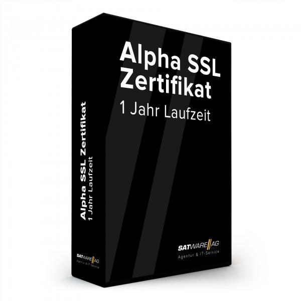 Alpha SSL Zertifikate