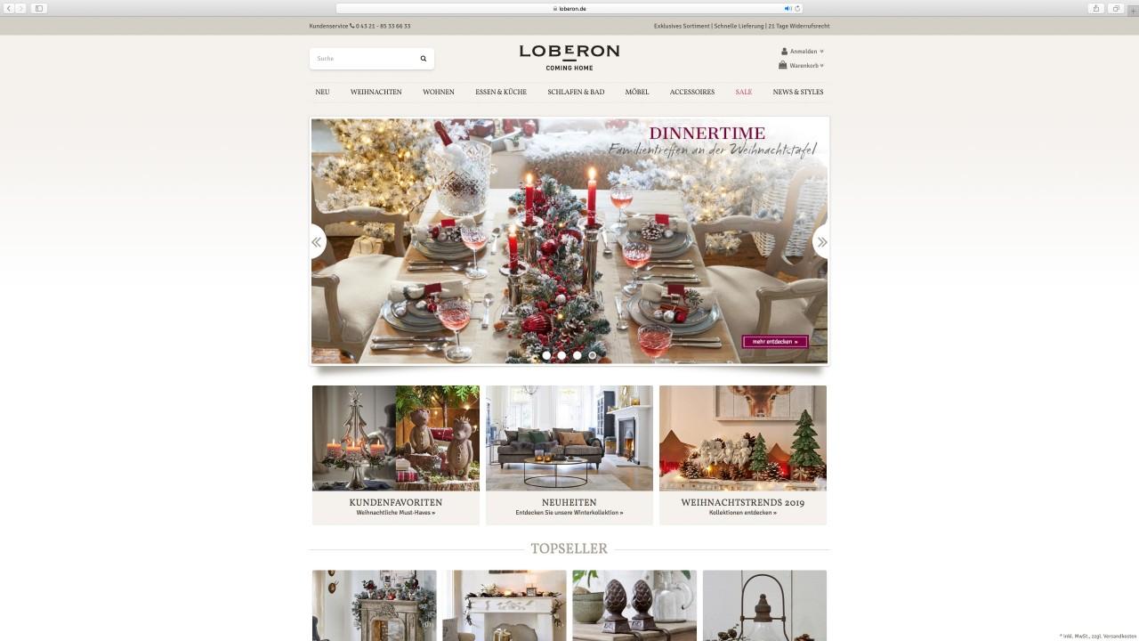 Loberon-Shop
