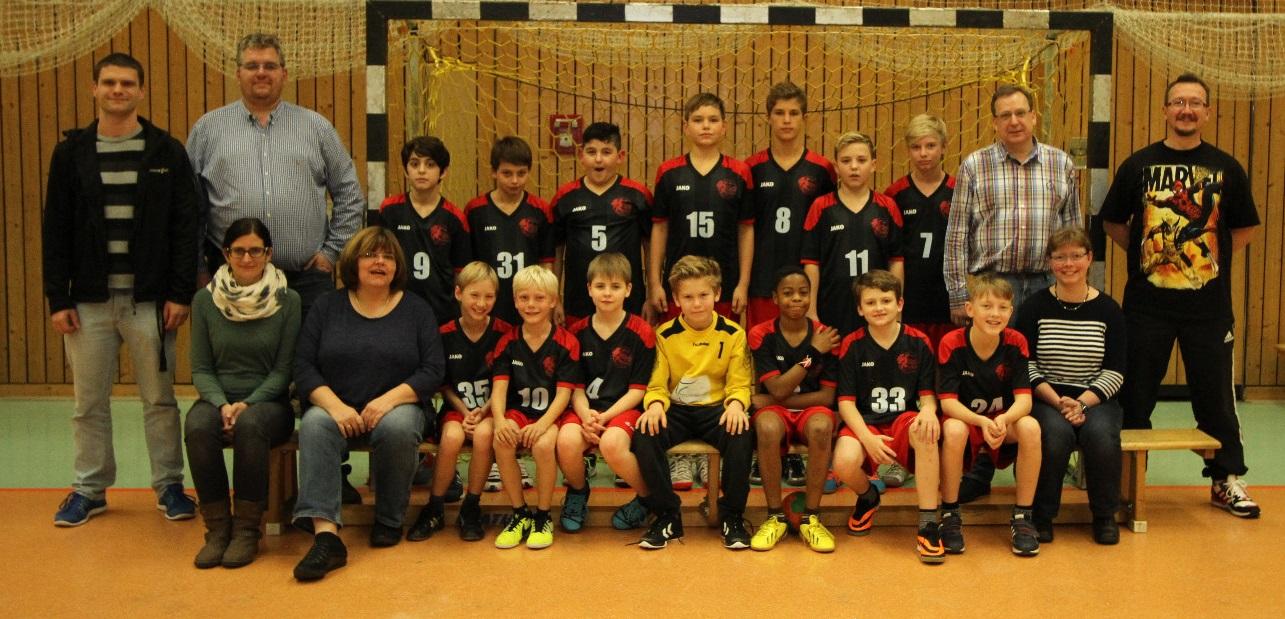 Gruppenfoto D-Jugend HSG
