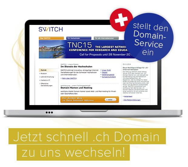 .ch Domains über satware AG