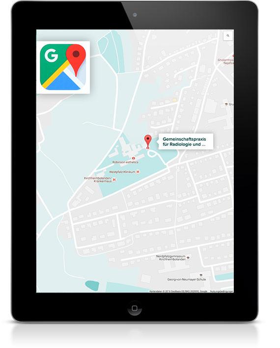 Google Maps Eintrag ihres Unternehmens