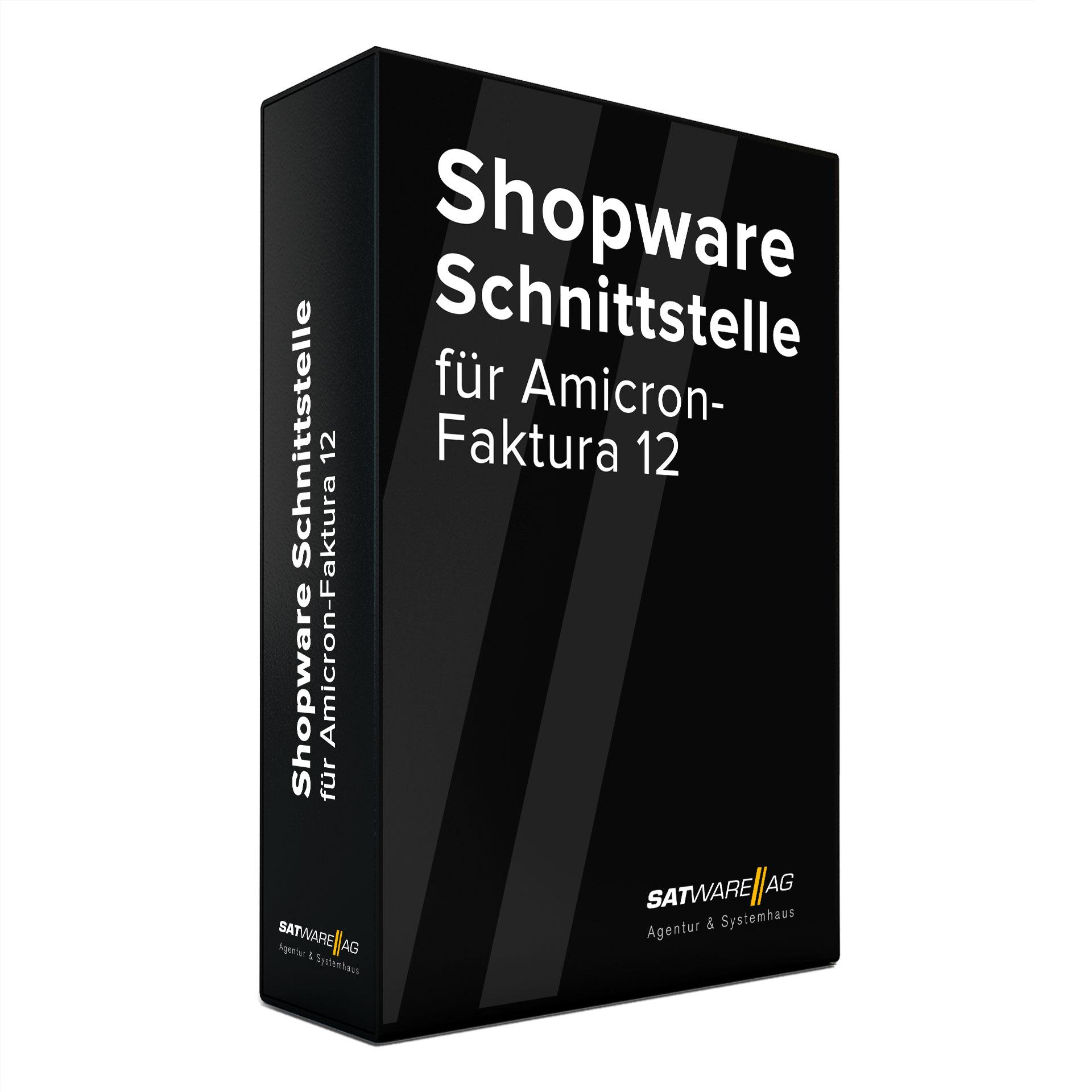 """Unser Plugin """"Amicron Faktura Schnittstelle"""" erfüllt die Shopware Certified Voraussetzungen"""