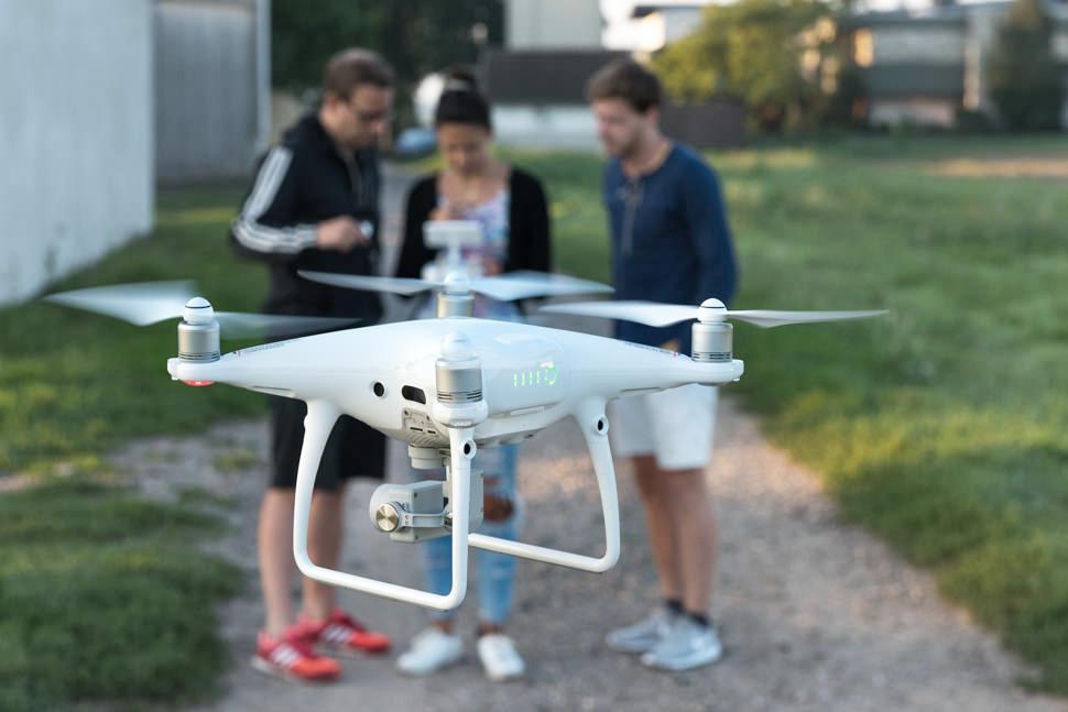 Drohnenflug mit der satware AG