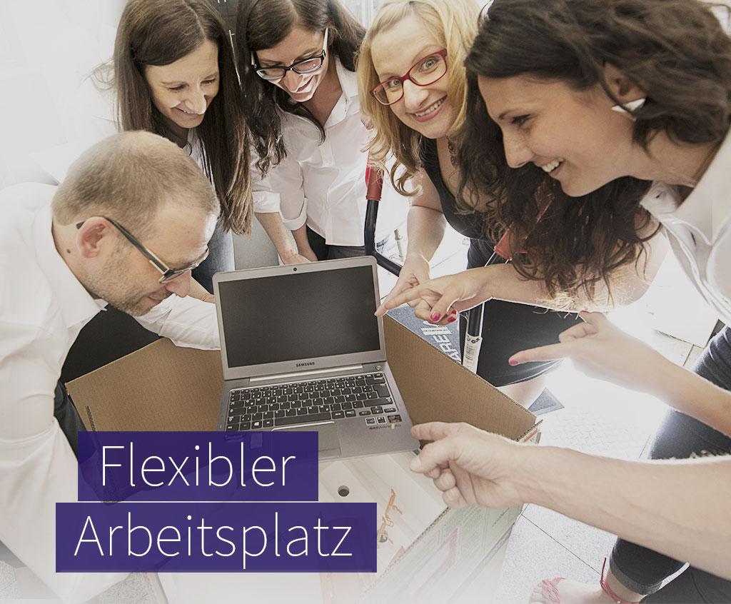 Flexibler Arbeitsplatz – Notebooks von der satware AG