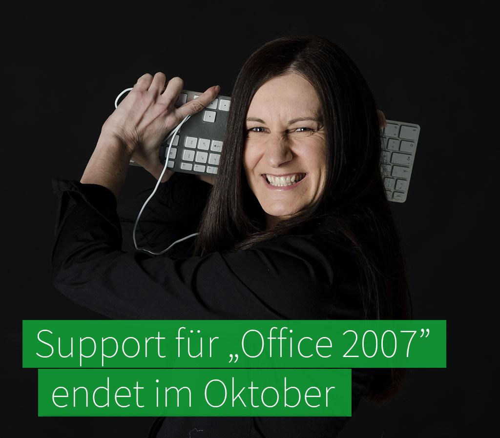 """Support für """"Office 2007"""" endet Oktober 2017"""