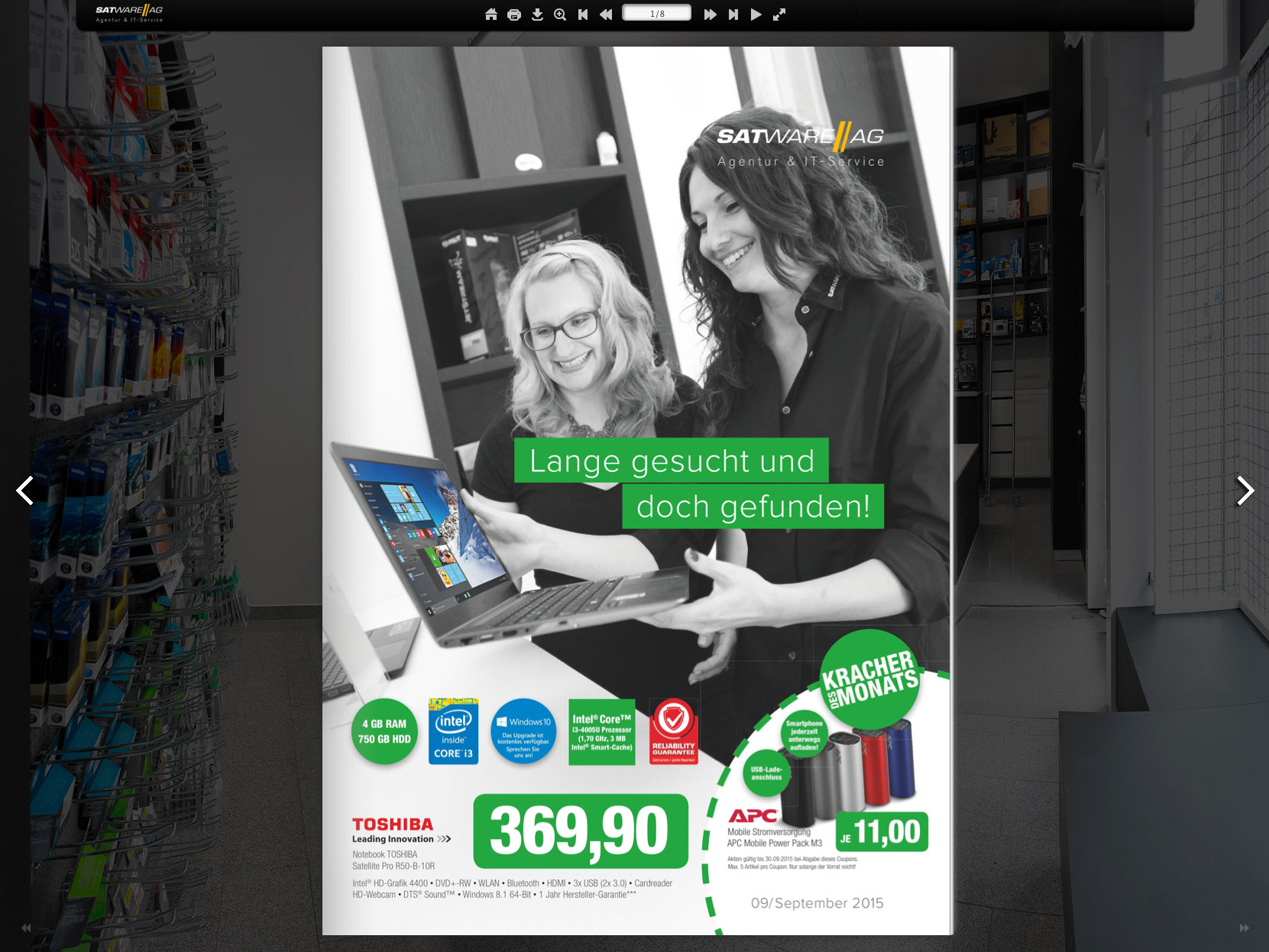satware AG Prospekt September 2015